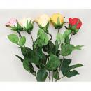 groothandel Kunstbloemen: Rose gesloten  bloem, 68cm extra lang