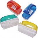 wholesale Manicure & Pedicure: Handwashbrush,  open handle, trend colors 9x6cm