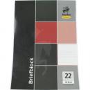 grossiste Cahiers et blocs: Bloc DIN A4 50 à damiers noir