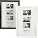 Großhandel Bilder & Rahmen: Fotorahmen 10x15cm  glänzend  schwarz/weiss ...