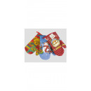 Pot glove with  Christmas motif 26x16x11cm,