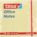 grossiste Cahiers et blocs: Sticky Notes TESA  75x75mm Office constate 100 feui