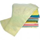 Großhandel Bad- und Frottierwaren: Wasch Handtuch  Gäste 30x50cm BW Farben sortiert