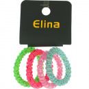 wholesale Hair Accessories: Hair-Spiral Plugs Set of 4 on 6 x 0,8cm