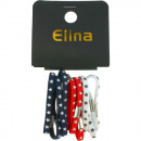 wholesale Home & Living: Hairbands 10  assorted m stars, colors assorted 5.5