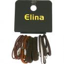 wholesale Hair Accessories: Hair gums set of 16, each 5cm
