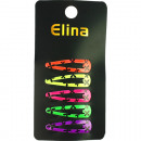 Hair Clip Set of 5, 4,7x1,3cm neon assorted