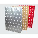 Sac cadeau Star Design 35x25x8,5cm taille XL,