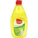 groothandel Reinigingsproducten: Wasmiddel 500ml CLEAN citroen