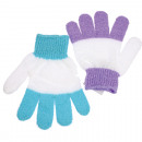 wholesale Wellness & Massage: Washing glove  massage 18x11,5cm two-color assorted