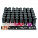 wholesale Nail Varnish: Nail polish  Sabrina classic colors on tray 12ml