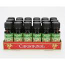 Perfume 10ml de aceite de Navidad en frasco de vid