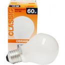 grossiste Ampoules:Osram mat 60 Watt, E27