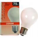 grossiste Maison et habitat:Osram mat 75 Watt, E27
