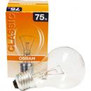 grossiste Ampoules: Osram ampoules  transparentes 75 Watt, E27