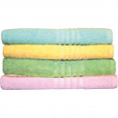 wholesale Home & Living: Wash / Soap cloth BW 30x30cm 5 pastel colors sort