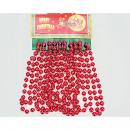 Tree keten rode  8mm grote ballen 275cm
