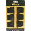 wholesale Hair Accessories: Haarklemmen metal  black 4,5 cm 144 card
