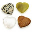 groothandel Sieraden & horloges:Heart - diverse stenen