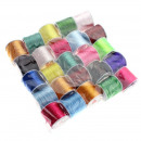 Pack of Silicone Thread Coils - 25 pcs