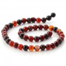 wholesale Jewelry & Watches: Miracle Agate Bead Strips - 8 mm