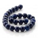 wholesale Crockery: Agate Dark Blue - Balls - 14 mm