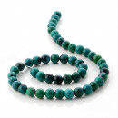 wholesale Jewelry & Watches: Chrysocolla -  balls in strips - 8 mm