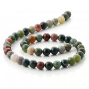 wholesale Jewelry & Watches: Natural Indian agate beads - 8 mm