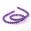ingrosso Beads & Charms: Jade viola - conti - 6 mm