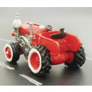 Spardose 'Traktor' rot 14x9x9cm