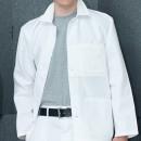 Großhandel Arbeitskleidung: Arbeitsjacke Koep. weiß Gr.56