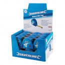 Silverline Rollbandmaß 'Measure Mate', 8m x25mm,