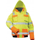 Großhandel Fashion & Accessoires:-Warnschutz  Pilotenjacke Mats, Gr. M, gelb/orange