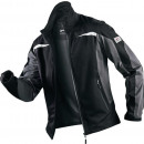 Großhandel Fashion & Accessoires: Ultrashelljacke  Form 1141, Gr.XL, schwarz/anthrazi