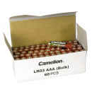 Micro-Batterie CAMELION Alkaline 1,5 V, Typ AAA, 6