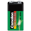 Block-Batterie CAMELION Super Heavy Duty 9 V, Typ