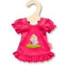 Großhandel Nachtwäsche: Puppen-Nachthemd  pink 20-25 cm, 1 Stück