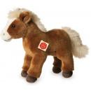 Pferd stehend braun, ca. 25 cm, 1 Stück