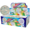 Rainbow-Kristall Flummi mit 6St.