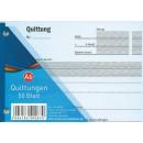 Großhandel Hefte & Blöcke: Quittungsblock A6, 50 Blatt