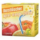 Großhandel Nahrungs- und Genussmittel: Durstlöscher Apfel Orange Zitrone 0,5l 12st.Tetra