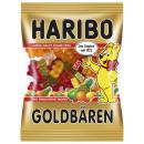 Großhandel Nahrungs- und Genussmittel: Haribo Goldbären Fruchtgummi-Bären mit Erdbeer-, A