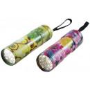 Großhandel Taschenlampen: Carpoint Taschenlampe mit Blumenmuster im ...