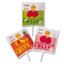 Großhandel Nahrungs- und Genussmittel: Frigeo Traubenzucker Lolly Erdbeer ...