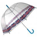 Großhandel Regenschirme:,Kuppel-Regenschirm Union Jack,England D: ca. 85 c