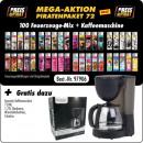 Großhandel Kaffee- und Espressomaschinen: Piraten Aktions Paket S 72- mit 100 Motiv Fzg. Mix