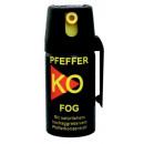 Großhandel Sport & Freizeit: Pfeffer Spray KO FOG 50ml mit Sprühnebel Abwehr&Ve