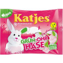 Großhandel Nahrungs- und Genussmittel: Katjes Grün-Ohr Hase Schaumzucker mit Fruchtgummi