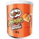 Großhandel Nahrungs- und Genussmittel: Pringles Sweet Paprika Stapelchips mit ...