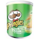 Großhandel Nahrungs- und Genussmittel: Pringles Sour Cream & Onion Stapelchips mit ...